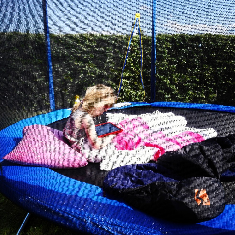 kolonihave trampolin