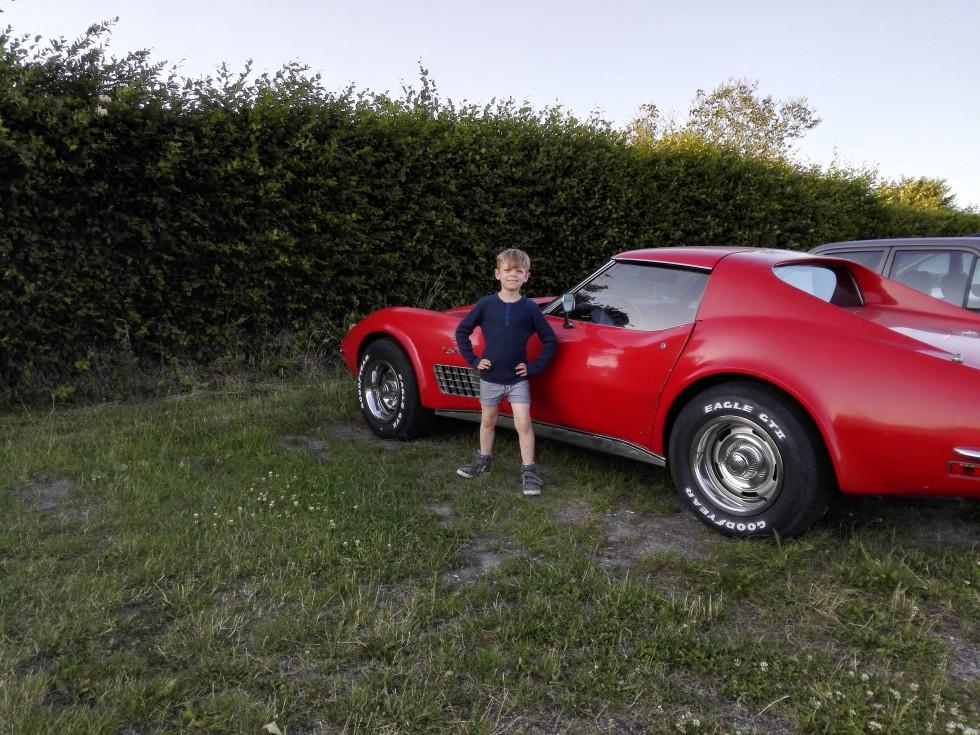 flot rød bil