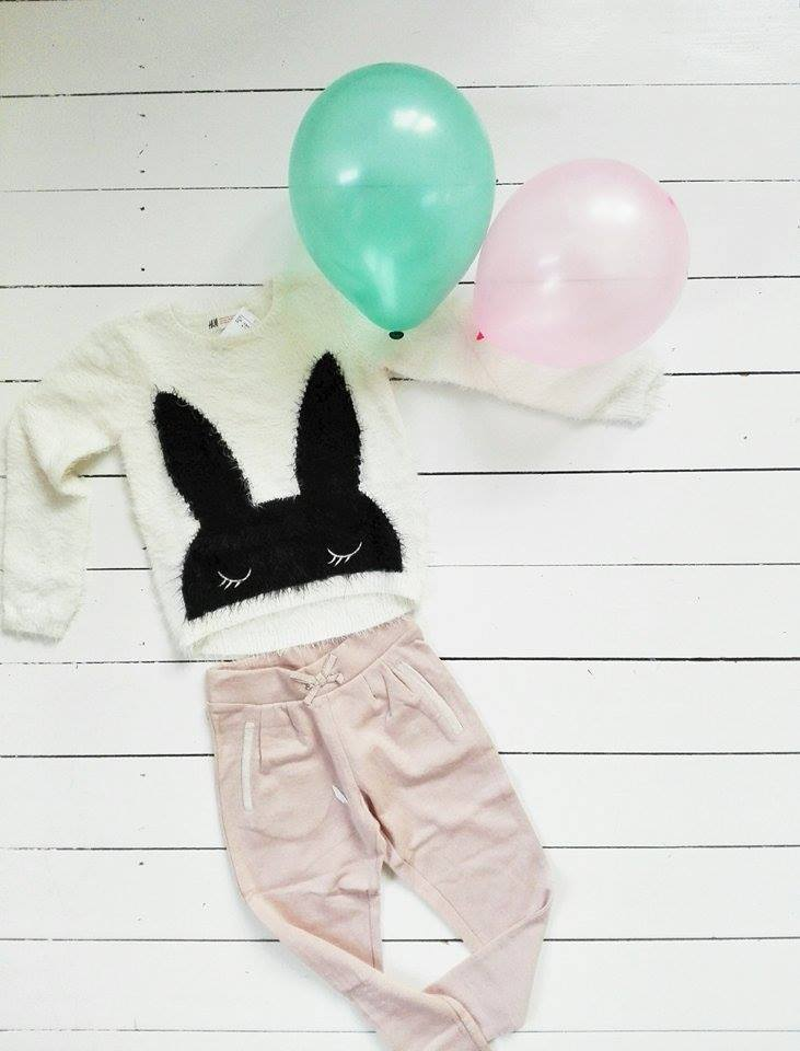 børnetøj kanin glimmerbukser budgetkøb
