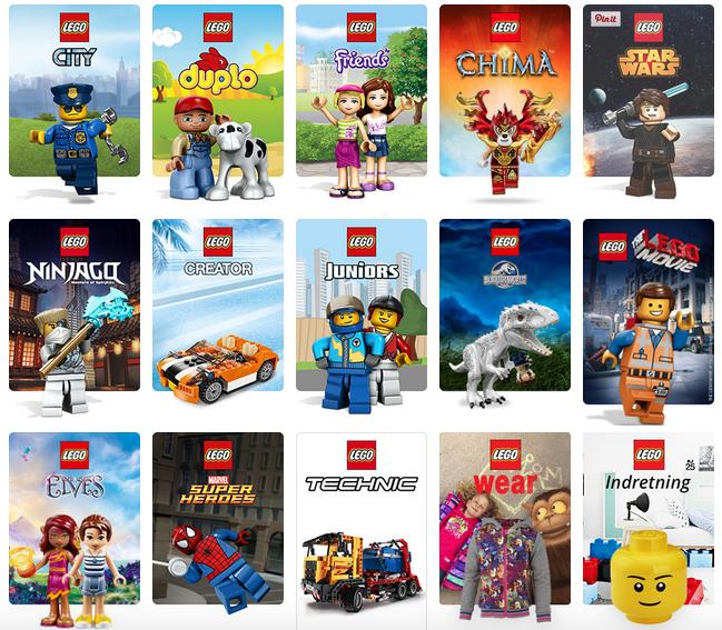 LEGO på tilbud udsalg