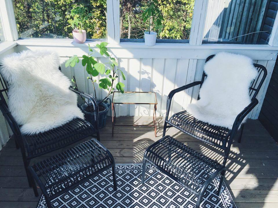 kurvemøbler figentræ terrasse