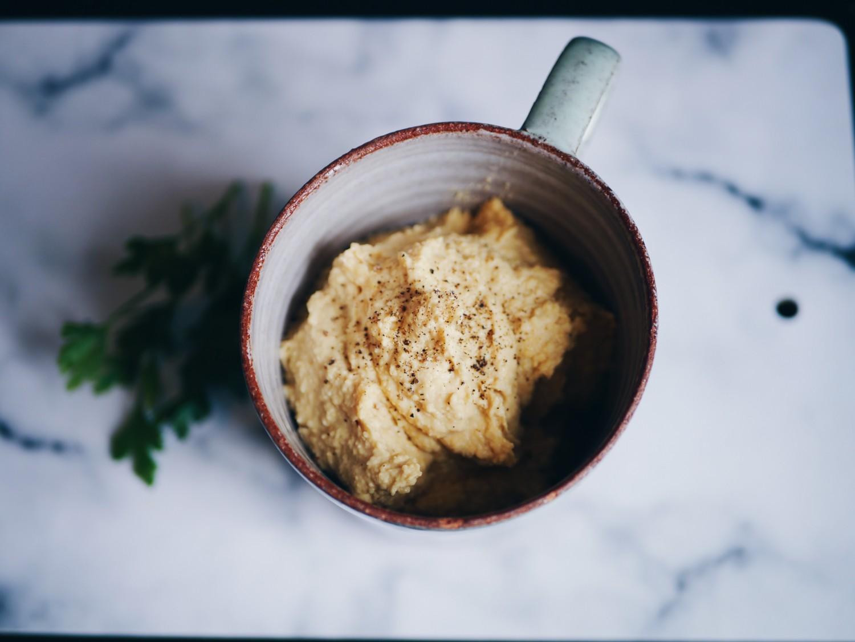 hummus med peanutbutter