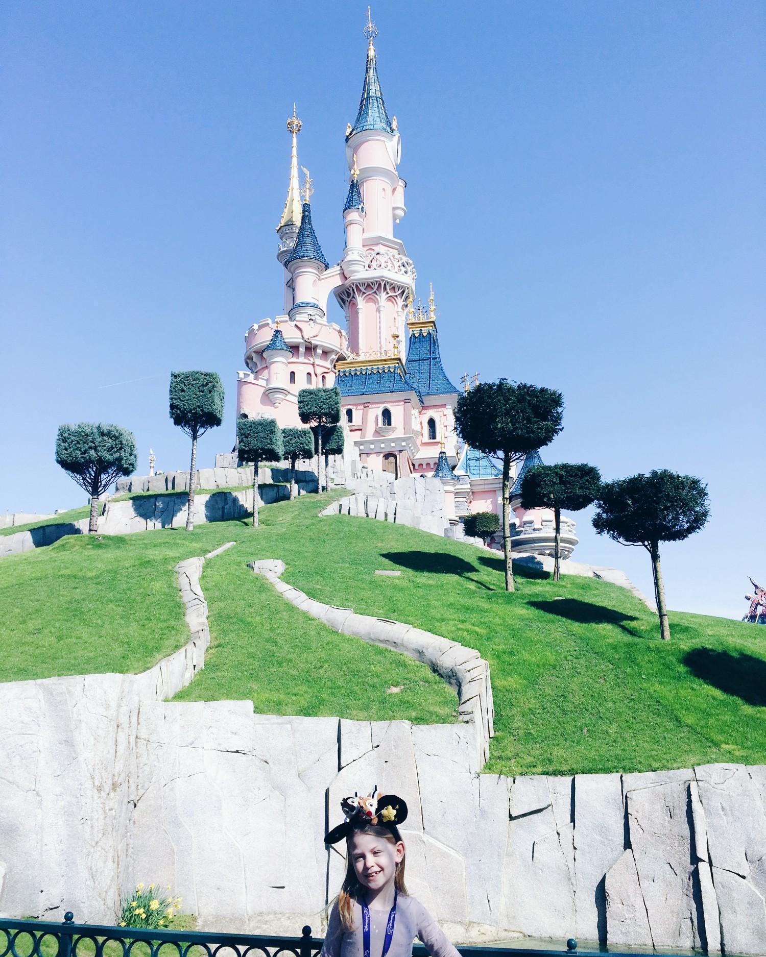 Disneyland Paris slottet
