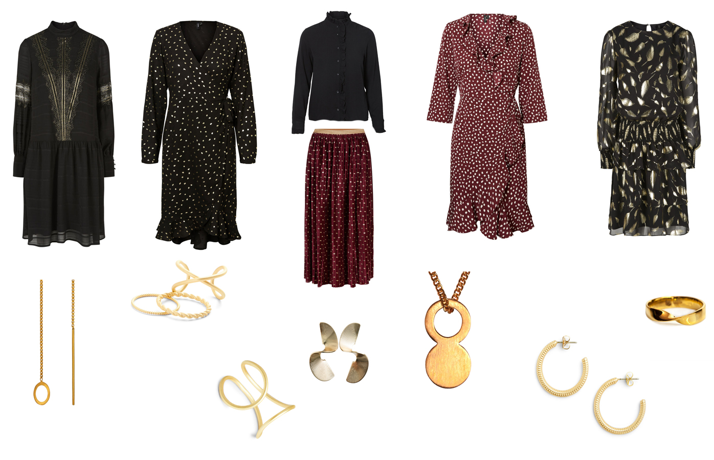 kjoler og smykker