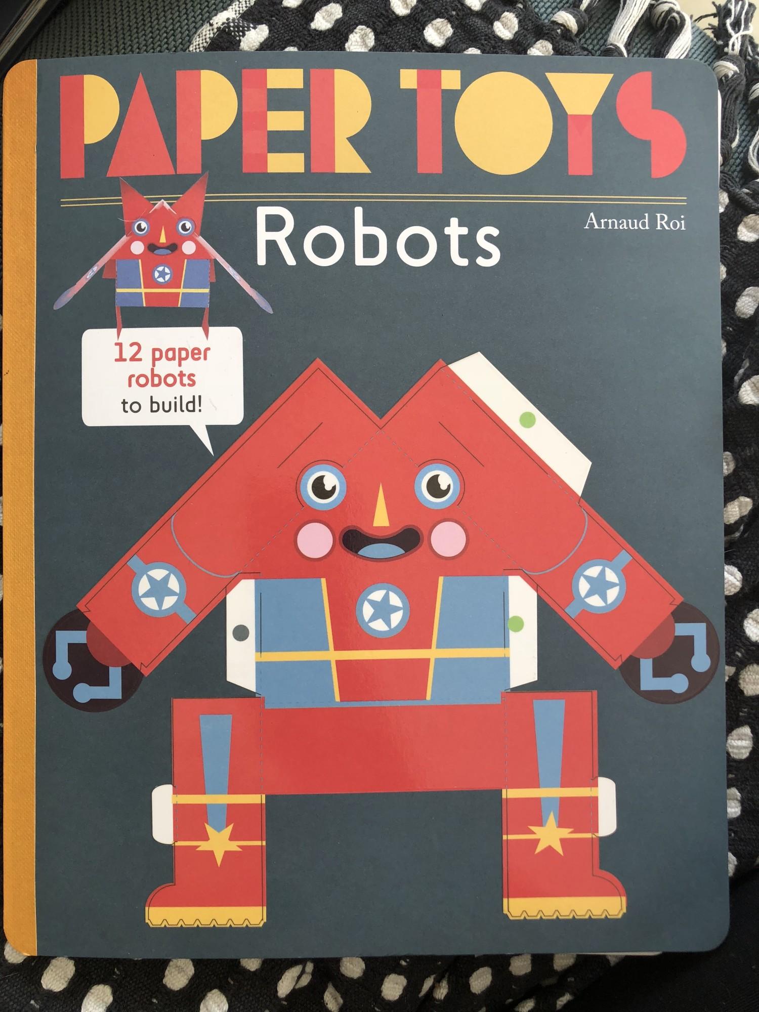 paper toys robotter