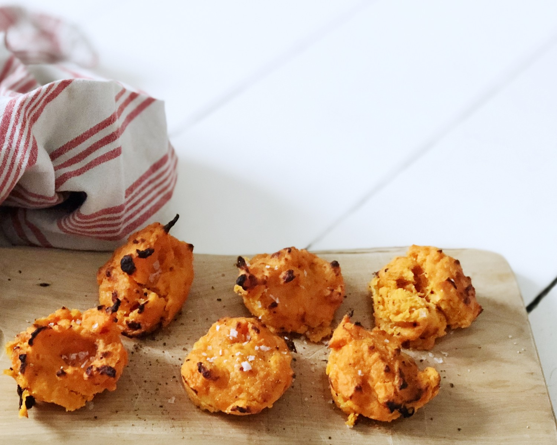 sweet potatoe bites opskrift