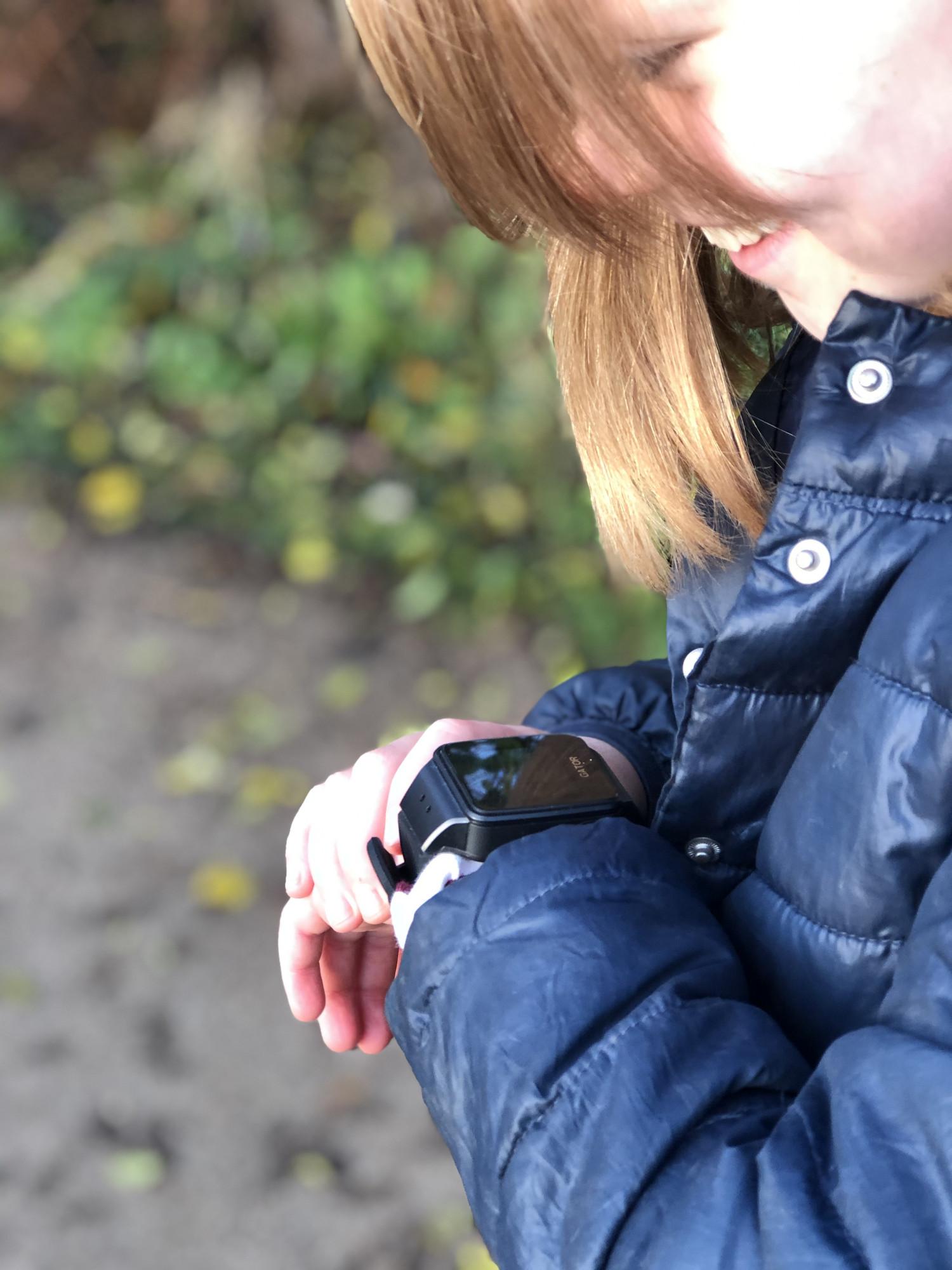 gps-ur med indbygget telefon