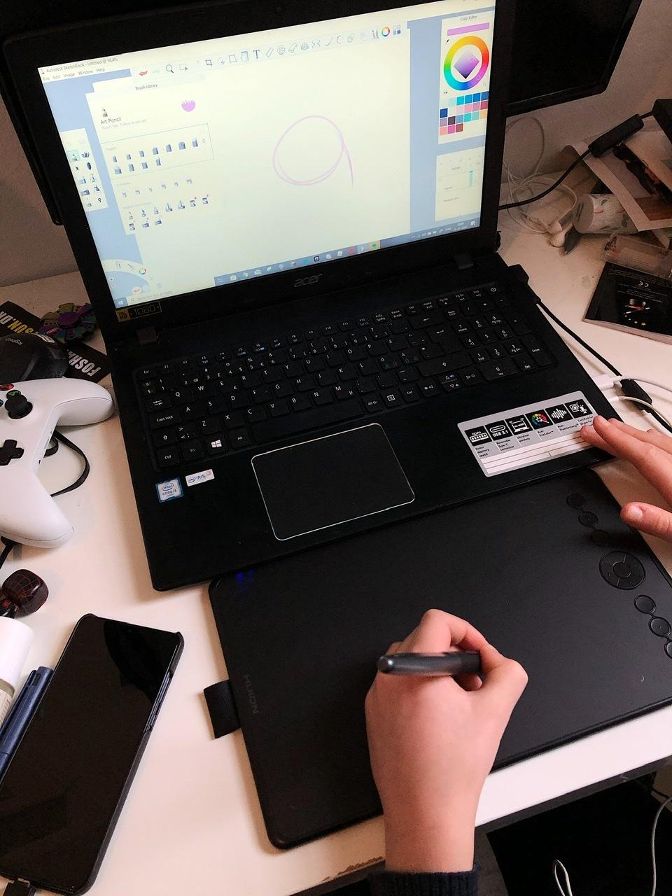 pen tablet tegnetablet