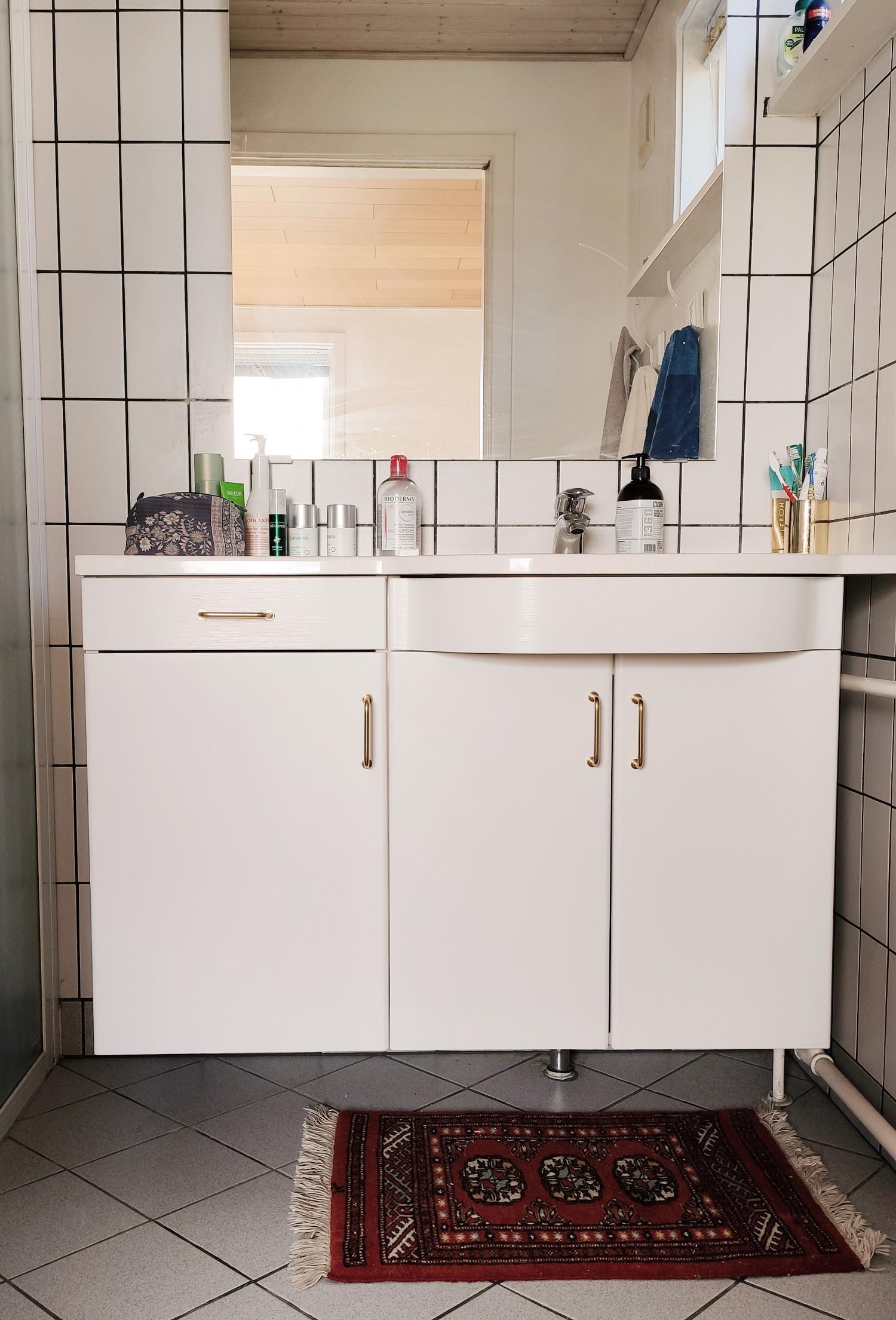 billig makeover af badeværelse