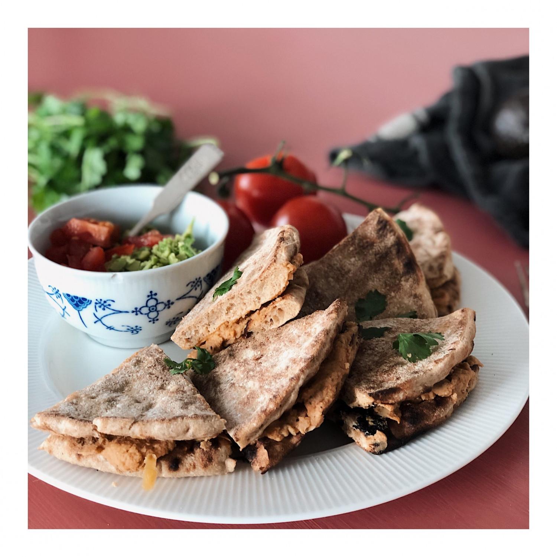 vegetariske quesadillas opskrift