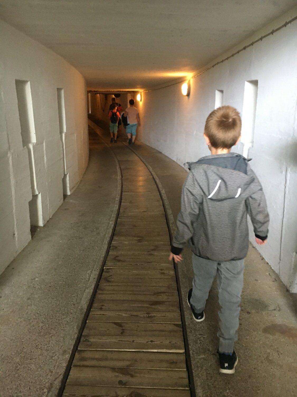 I den store bunker i Hanstholm