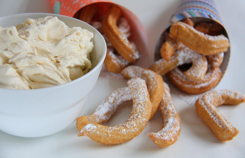 hjemmelavede churros med softice