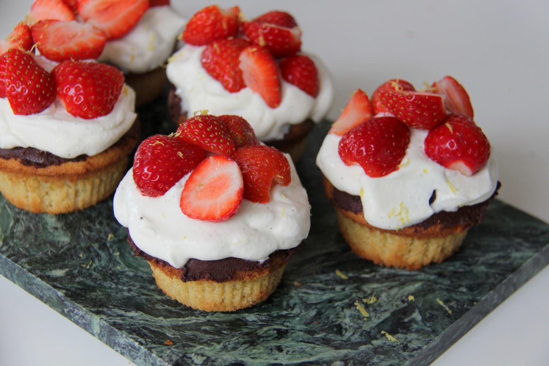 jordbær kager