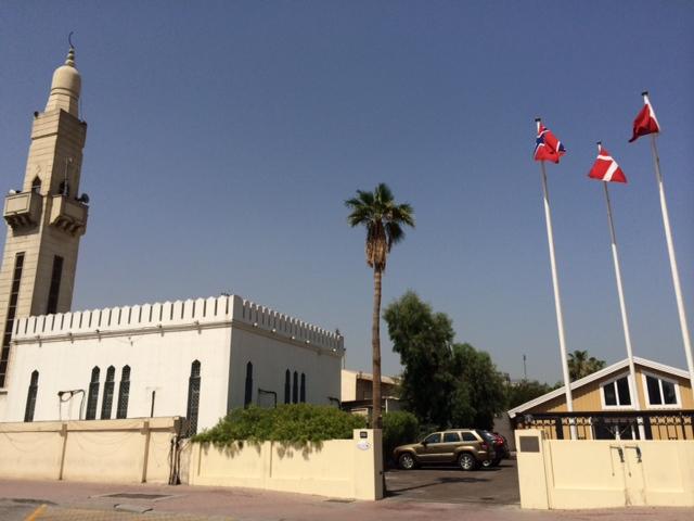 Frihed til at tro - den kristne kirke side om side med en moské