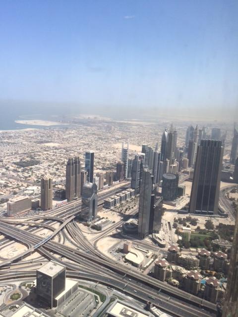 Downtown Dubai - Sheikh Zayed Road