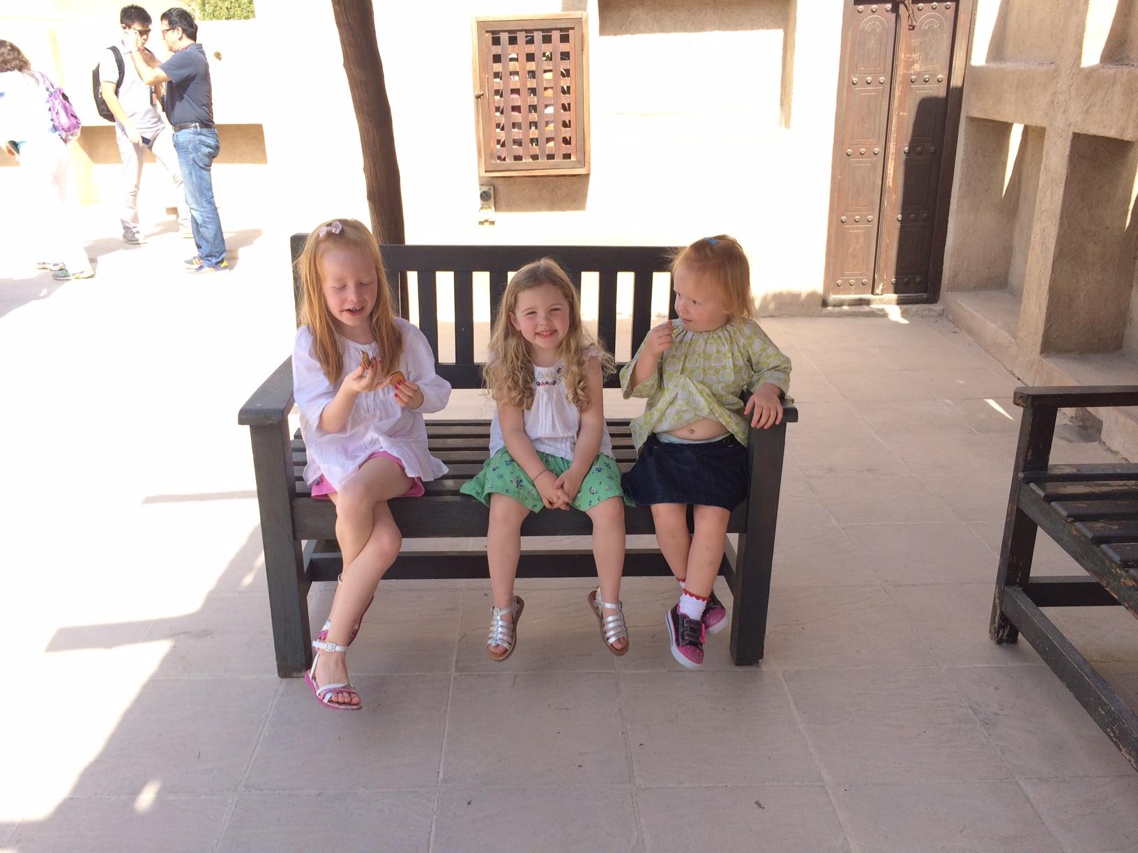 Bea, Mille og Cille