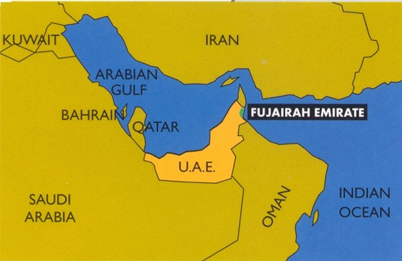 Fujairah-UAE_Map