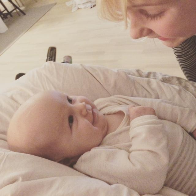 Caro og baby