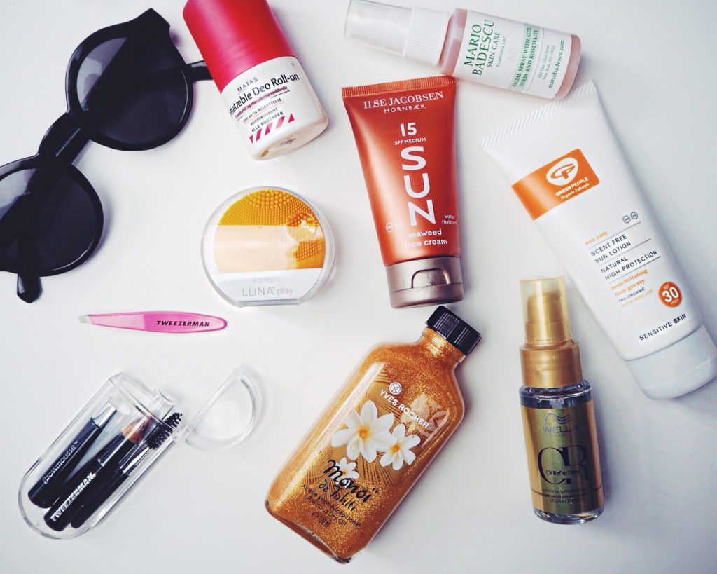 Beauty checkliste, checklist, Beauty checklist, Festival list, Festival tjekliste, Festival musthaves,