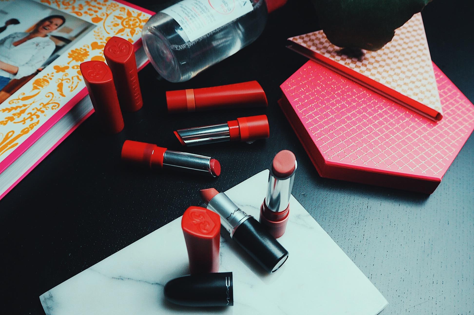 læbestifter rimmel loreal budget beauty nelle noell nelle noel