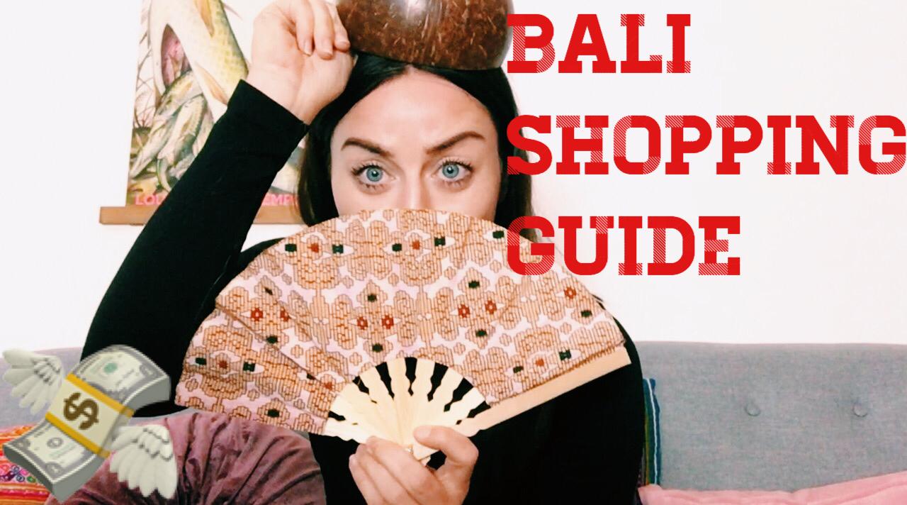Bali shopping guide tips til bali guide