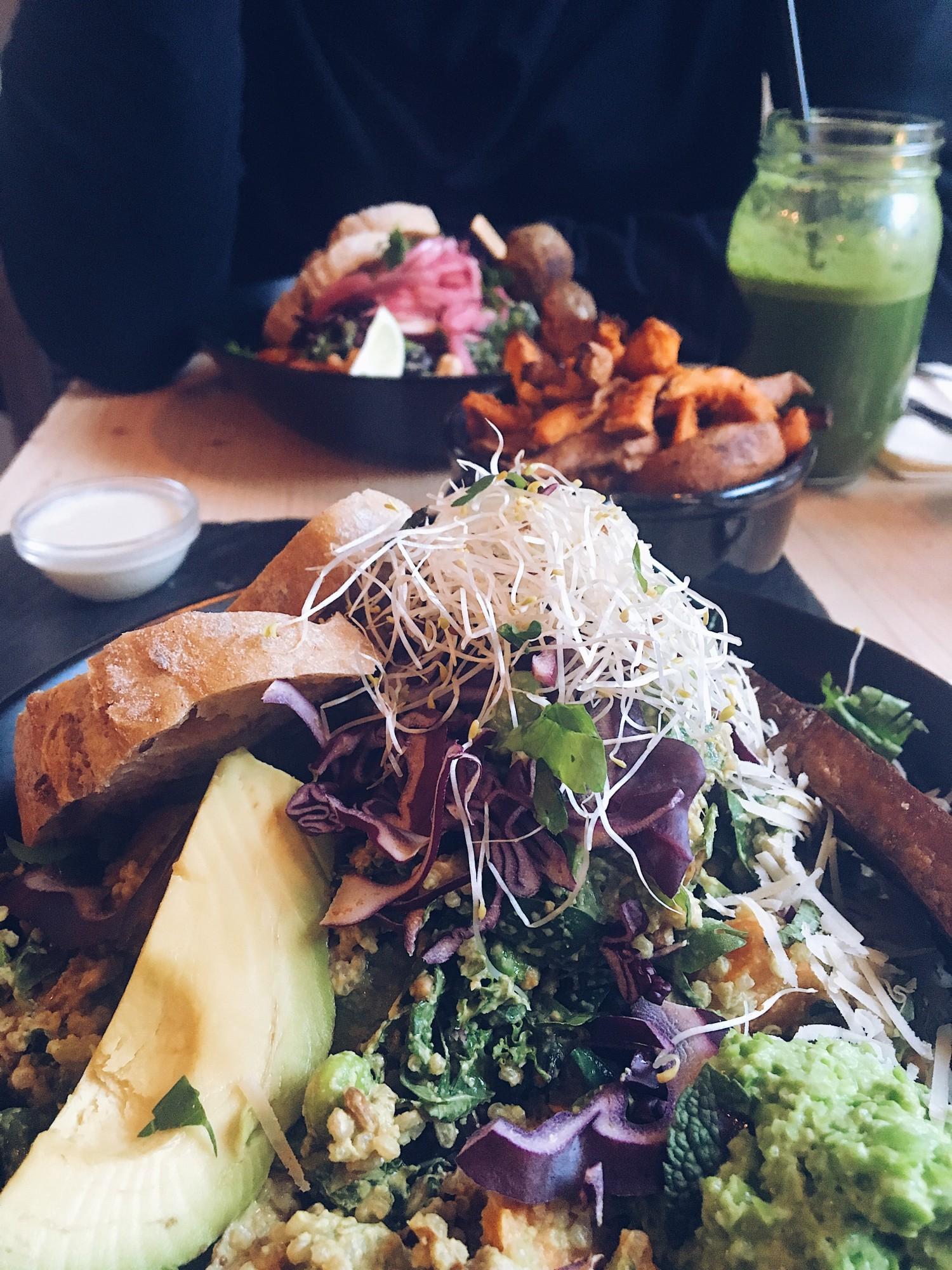 den gode uge med lykkeglimt nelle noell souls vegetar salat