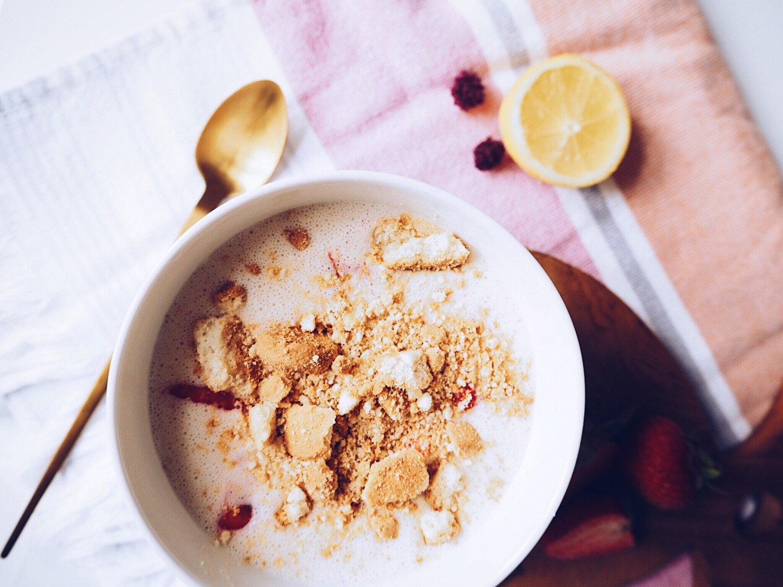 nem, hurtig og vegansk koldskål uden sukker