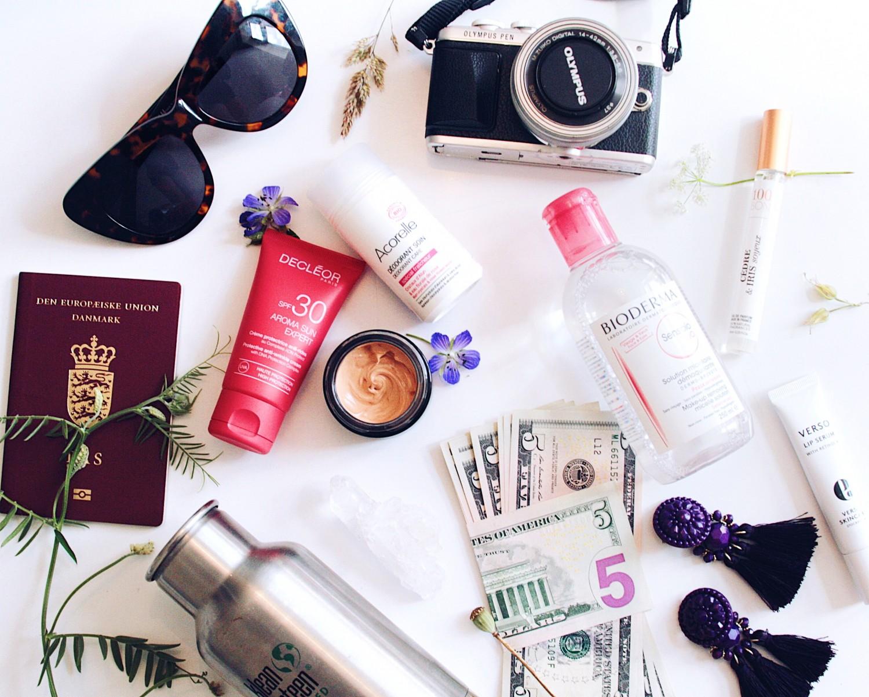 tjekliste til rejser og ferie