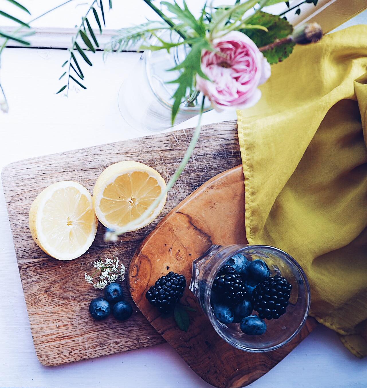 frisk lemonade uden sukker ingefærshot på to minutter