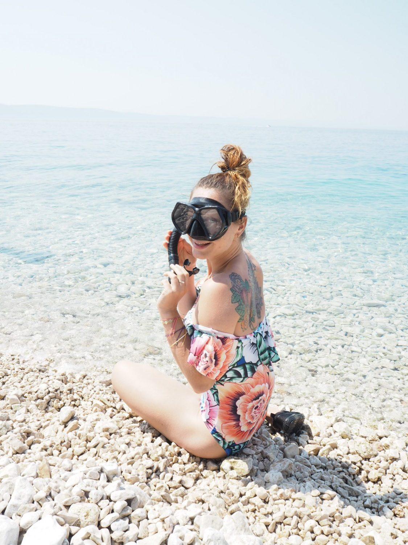 kroatien guide, snorkling i Kroatien, podgora maraskaska sibenik