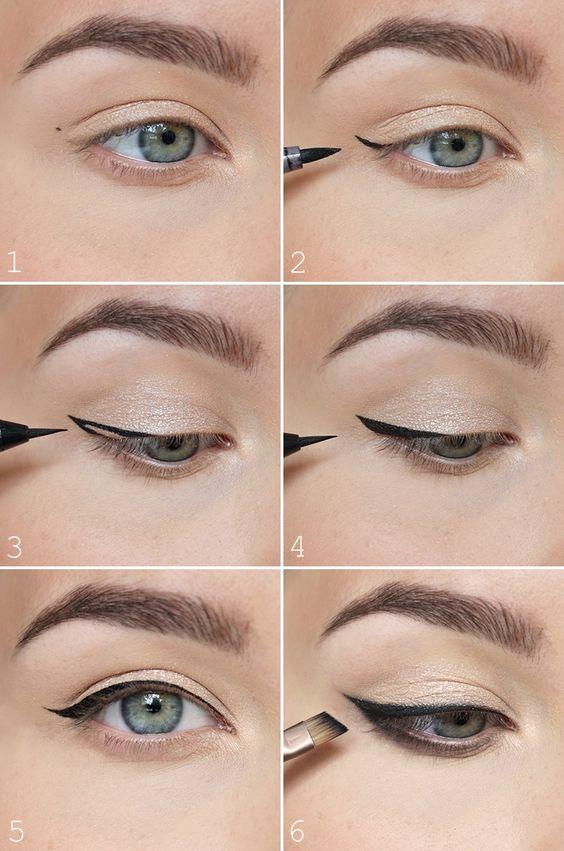 eyeliner guide den perfekte eyeliner