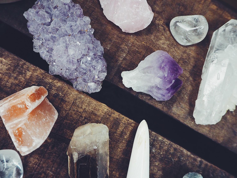 krystaller, krystal guide, hudpleje med krystaller