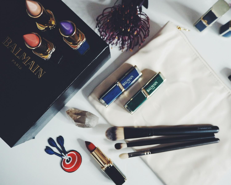 balmainxloreal, læbestifter, balmain, Balmain x L'Oréal