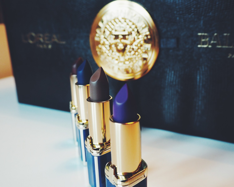 balmainxloreal, læbestifter, læbestift,Balmain x L'Oréal