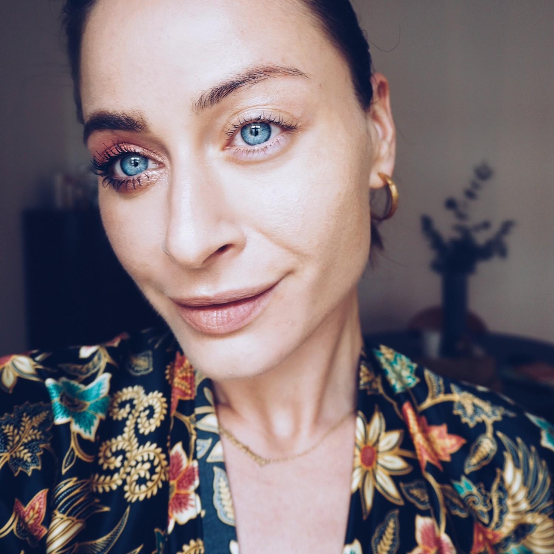 half face makeup