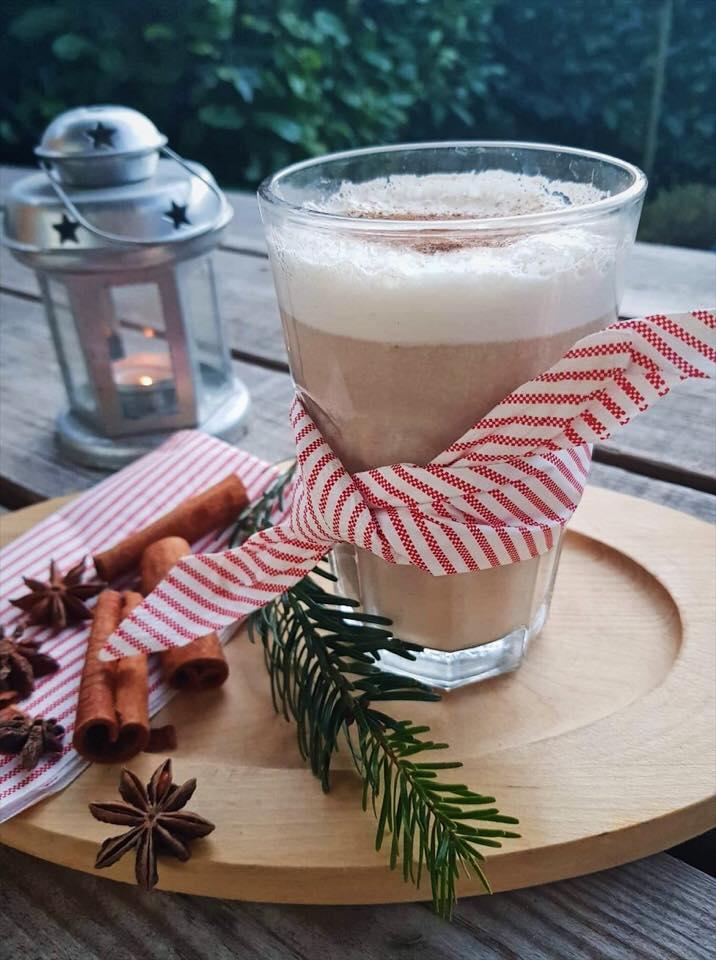 vegansk latte julelatte