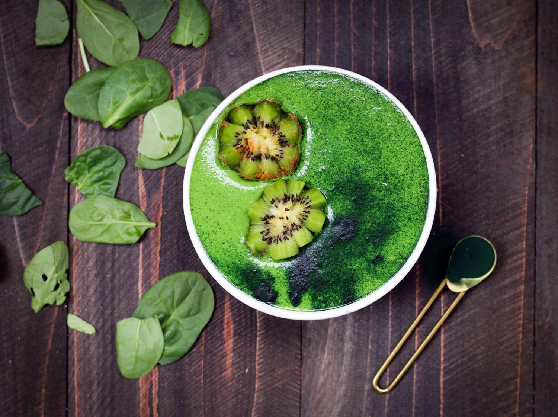 grøntsagssmoothie mere grønt