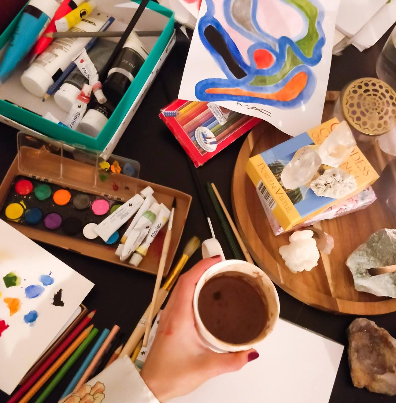 kreativ kreativitet mindske stress