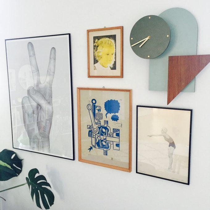 nem Billedvæg med plakater, prints, kunst, Voxtrup