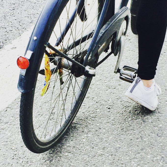 banan i cykelhjul