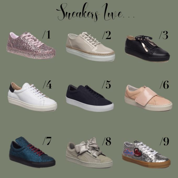 fede glimmersneakers - sneakers boozt - Voxtrup