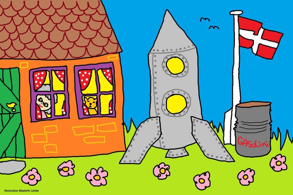 Foræl-en-historie-mormor-lille-bjarne-på-vej-til-rummet-universet-raket-tegning-illustration-tegnestreg-1024x683