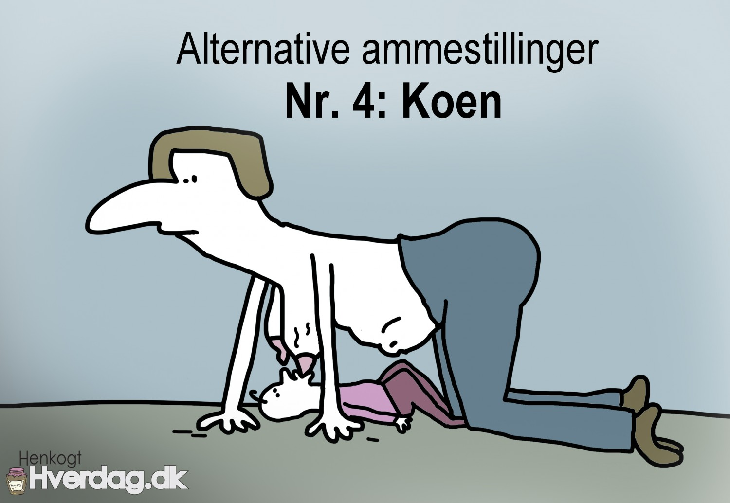 Alternative ammestillinger. koen