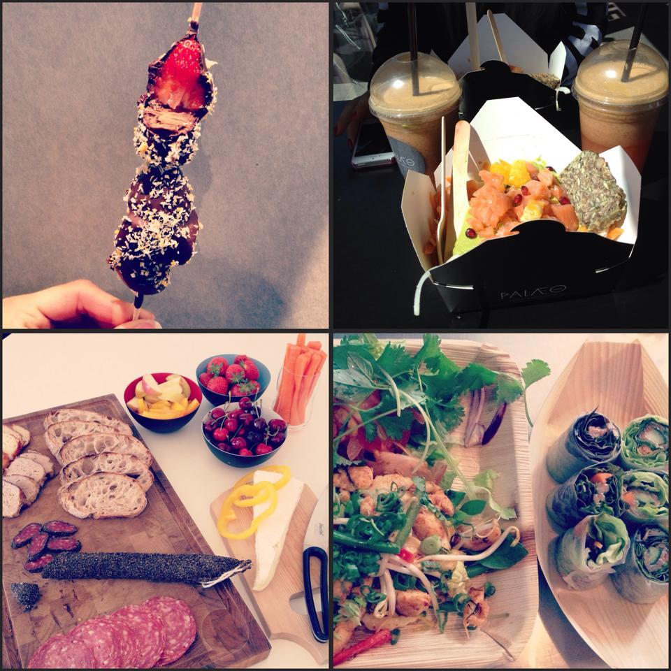 Fruit sticks i Tivoli - Palæo i Torvehallerne - Tapas - LéLé Street Kitchen