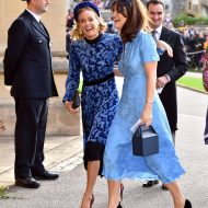 Cressida Bonas au mariage de la princesse eugenie et jack