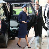 la duchesse meghan markle arrive au mariage de la princesse eugenie et de jack brooksbank
