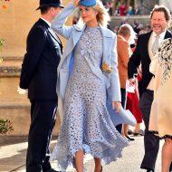 POPPY DELEVINGNE au mariage royal de la princesse Eugénie