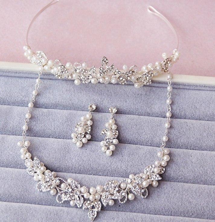 bijoux de mariage en perles