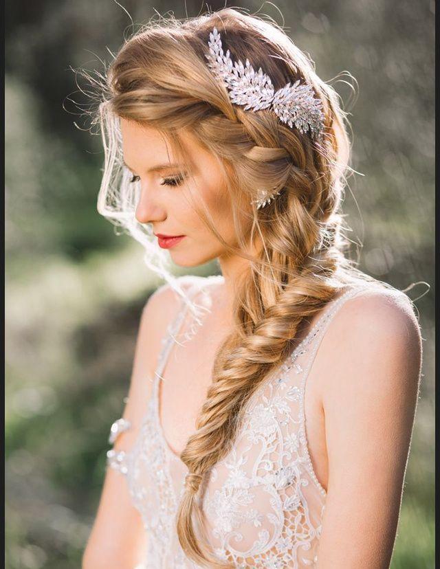 coiffure de mariée tresse