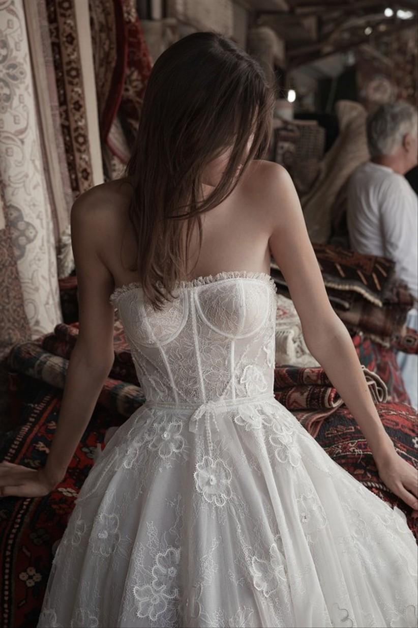 robe mariée bustier